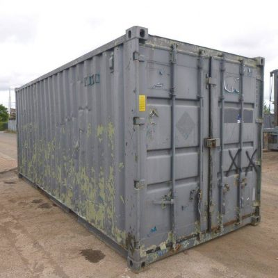 Grey Used shipping container