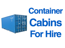 Container Cabins Hire