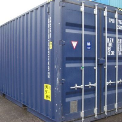 20ft New High Cube Containers North Wales
