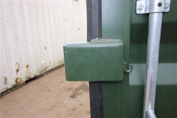 View of lockbox