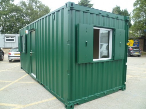 20ft x 8ft Anti Vandal Site Cabin