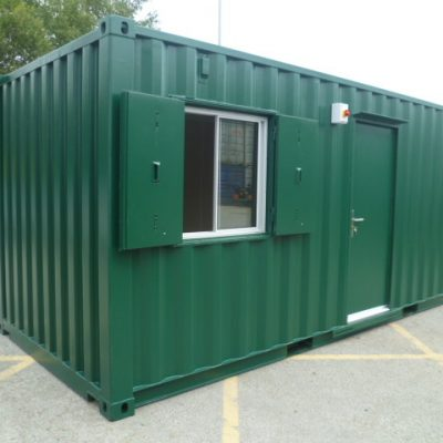 20ft x 8ft Anti Vandal Site Cabin