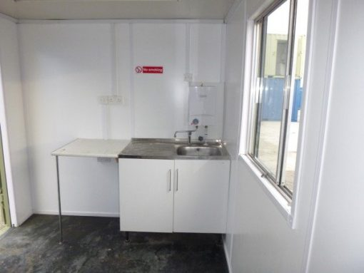 20ft Anti-Vandal Office Canteen