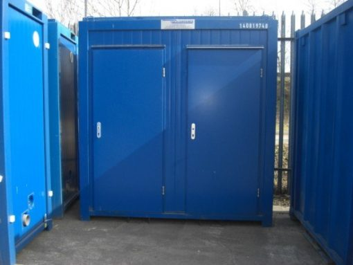 Special Offer Portable Toilet Unit 1+1 with Flush System