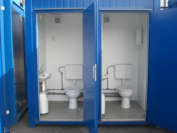 Portable Toilet Unit 1 1 With Flush System Container
