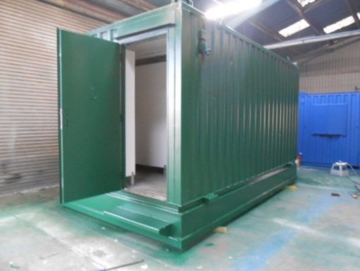 16ft x 9ft Combined Toilet Block
