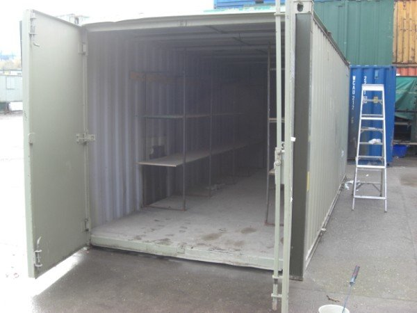 21ft x 8ft Store