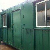 20ft x 9ft Green Open Plan Canteen