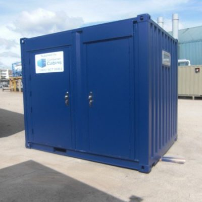 10ft x 8ft Disabled Toilet and single Toilet