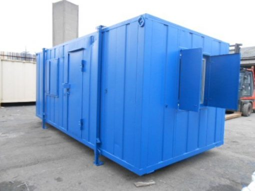 20ft x 9ft Canteen with Centre Access Door