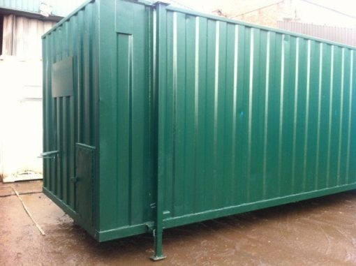 20ft x 9ft Green Open Plan Canteen