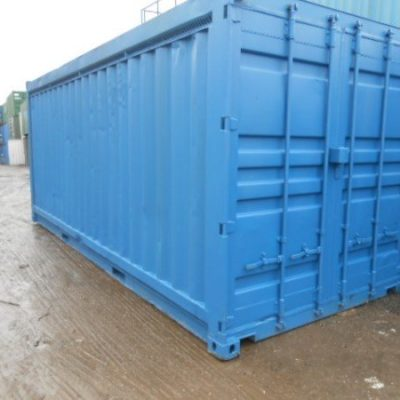 20ft x 8ft Ventilation Storage Unit