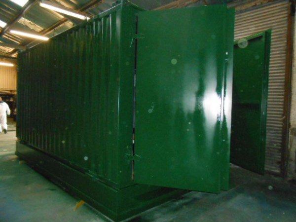 16ft x 9ft Combined Toilet Block