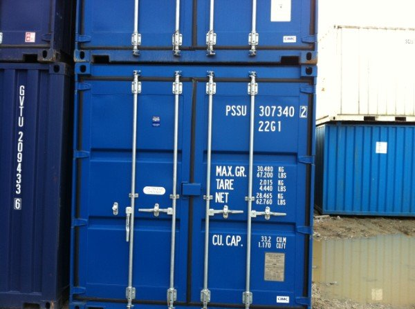 2016 Manufactured Shipping Containers
