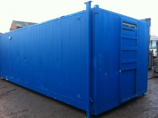 24ft Blue Office/Canteen