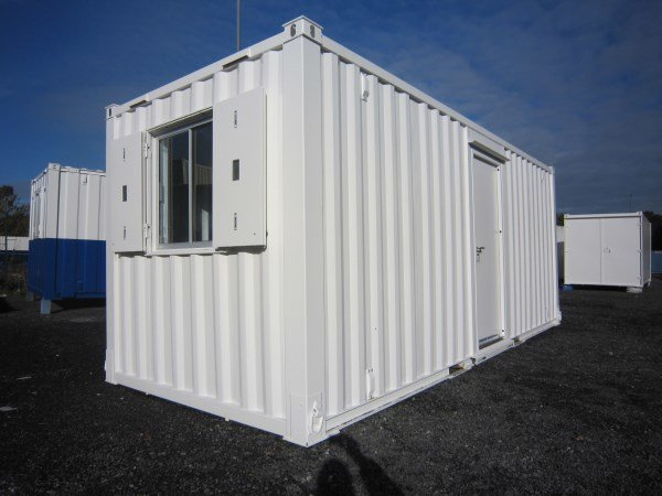 20ft x 8ft New Build Anti-Vandal Office Delux