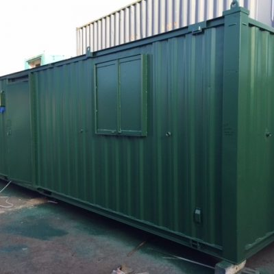 32ft x 10ft Anti Vandal Office/Kitchen/Toilet