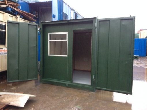 10ft x 8ft Anti Vandal Open Plan Office