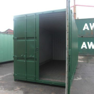 20ft x 8ft High Cube Storage Container