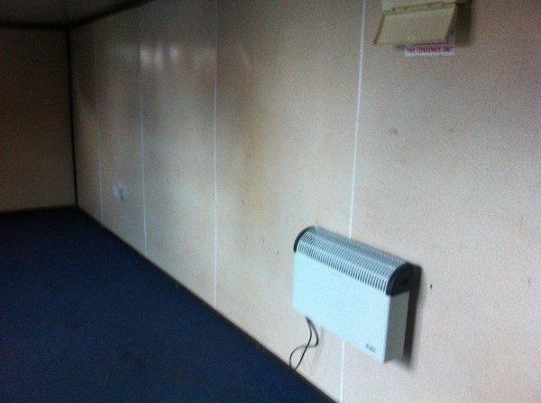 24ft Blue Office/Canteen