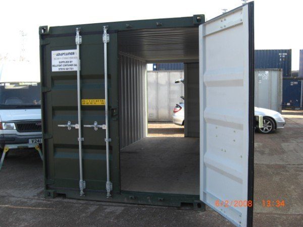 TUNNELTAINER SHIPPING CONTAINER
