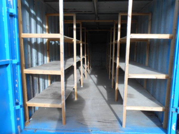 24ft Storage Unit with Racking
