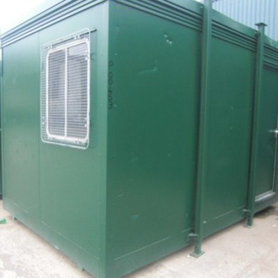 12ft x 8ft Steel Clad Jackleg Office