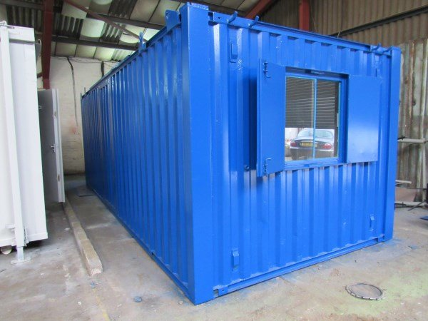 24ft x 10ft Open Plan Canteen