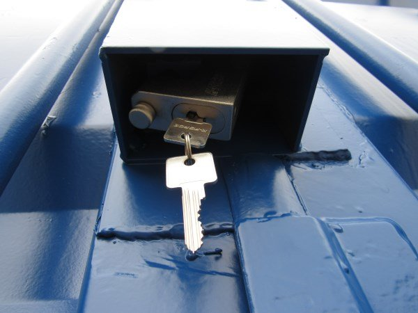 Shipping Container Lock Box