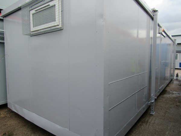 32ft x 10ft Steel-Clad Sleeper Portable Cabin