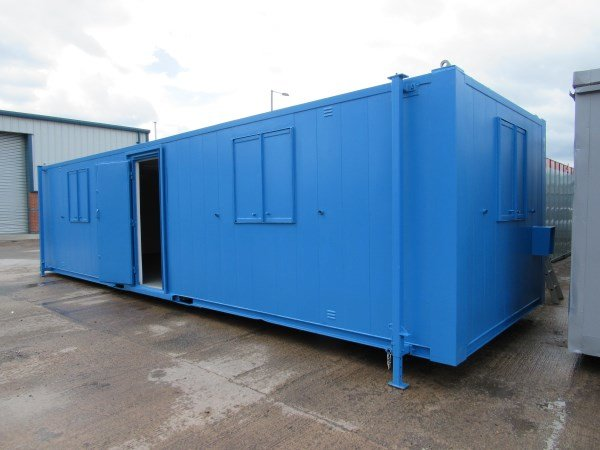 32ft x 10ft Anti Vandal Open Plan Portable Cabin