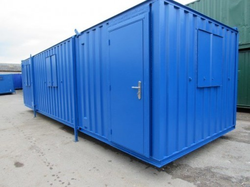 32ft x 10ft Anti Vandal Split Office