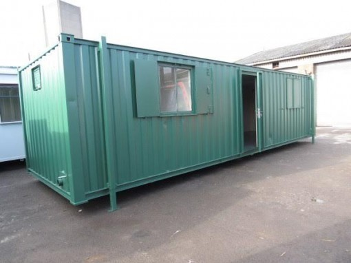 32ft x 10ft Portable Office with Kitchen and Toilet