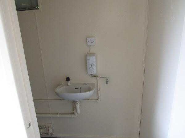 Wash Basin Portable Office