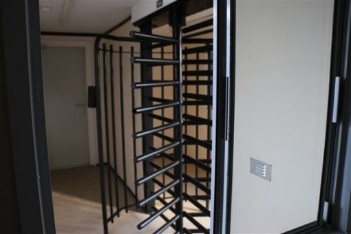24ft x 10ft Anti Vandal Turnstile Unit