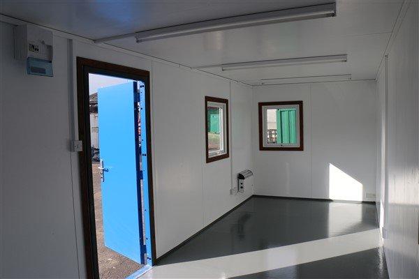 24ft x 8ft Plastersol Open Plan Office