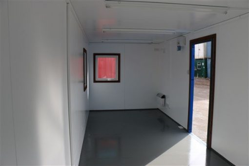 24ft x 8ft Plastersol Open Plan Office