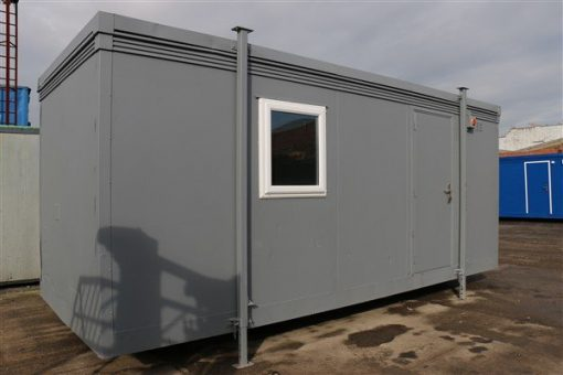 20ft x 8ft Plastersol Open Plan Office
