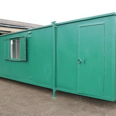 32ft x 10ft Flat Panel Steel Office Canteen
