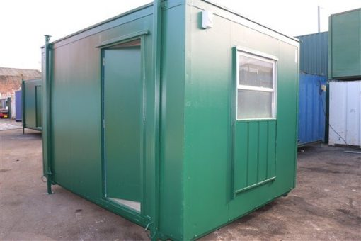 12ft x 9ft Steel Canteen Cabin