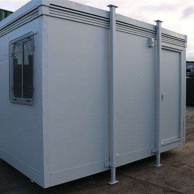 12ft x 8ft Plastersol Site Office