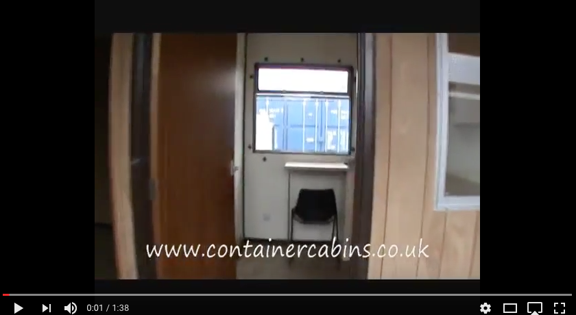 40ft x 12ft Timber Office/Kitchen/WC/Office/ Disabled WC