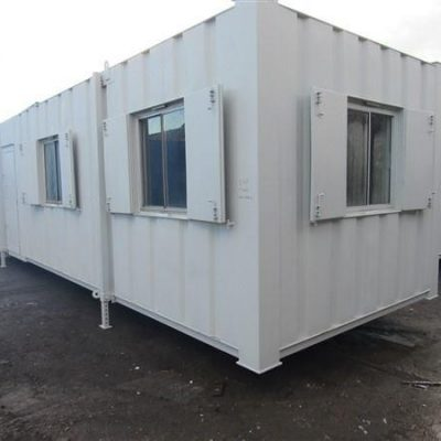 32ft x 10ft Refurbished Anti Vandal Canteen Cabin (6)