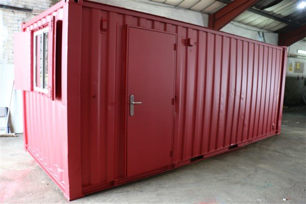 20ft X 8ft Site Office Store Container Cabins Ltd
