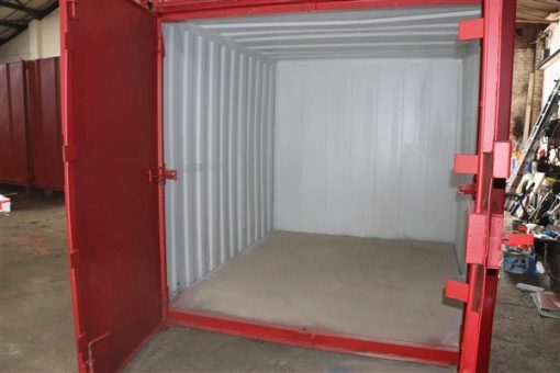 Inside of container