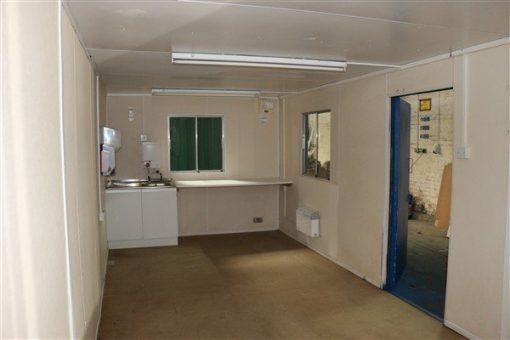 Interior View showing kitchen