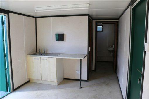 Interior view kitchen