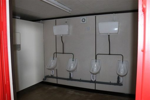 Inside view of toilet