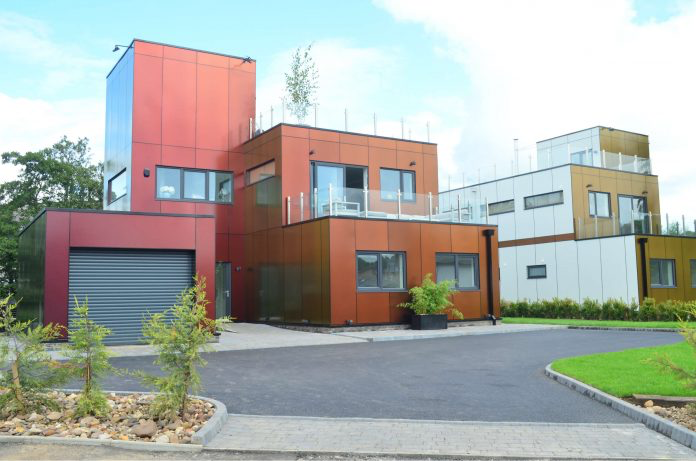 Make former shipping containers your home – for £350,000
