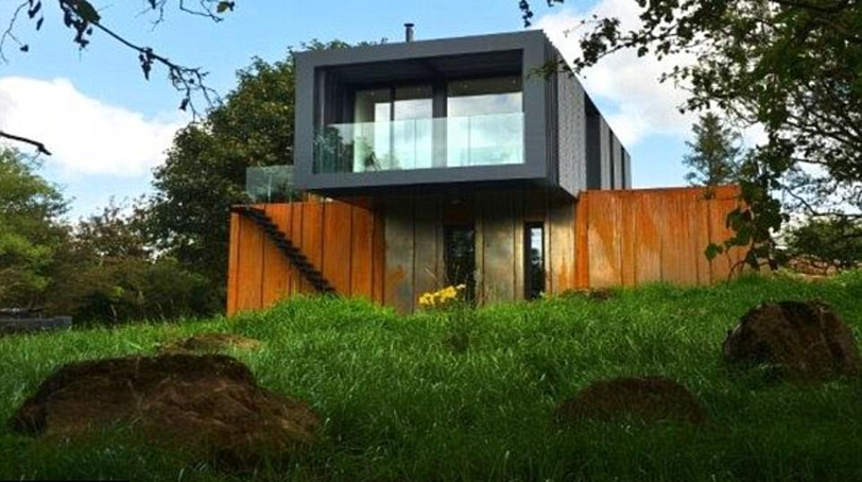 Kevin McCloud's Grandest Designs! Presenter reveals his top five builds in 20th anniversary episode – including a £10k shipping container project in Northern Ireland that he admits is his favourite EVER